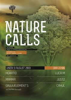Save the date 9th of August @Natura Parc