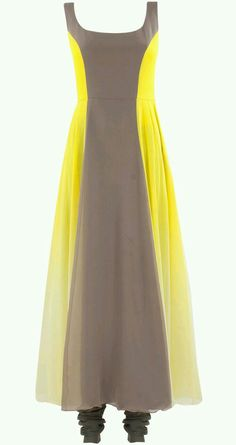 Manish Malhotra presents Shaded yellow and oyster coloured kurta set available only at Pernia's Pop-Up Shop. Indian Fashion Dresses, Pakistani Dresses, Asian Fashion, Indian Outfits, Kurta Designs Women, Blouse Designs, Plus Zise, Kurti Designs Party Wear, Anarkali Dress