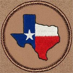 Lone Star Texas Patrol Patch (#383)