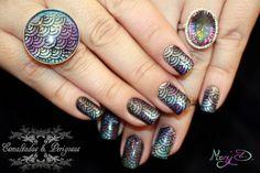 Domingo das Leitoras :: Rainbow Nails