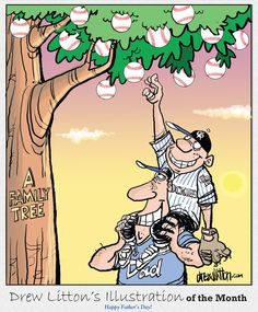 June 2011 - Baseball's family tree, a Father's Day tribute