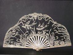 Art Nouveau fan. Ventall modernista. Carmen Tórtola Valencia collection.