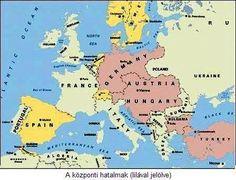 Az első világháború története | tortenelemcikkek.hu Genealogy, Elsa, Diagram, Map, Projects, Log Projects, Blue Prints, Location Map, Maps