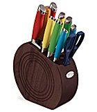 Fiesta Multicolor 11-Piece Knife Block Set
