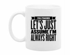 English Teacher Gift Gift for English Teacher by TheCoffeeCorner