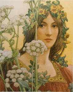 Our Lady of the Cow Parsley by Elisabeth Sonrel
