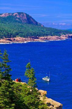 Frenchman Bay, Acadia National Park, Mount Desert Island - Maine
