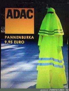 lustiges Bild 'Pannen-Burka.png' von Schnurri. Eine von 14329 Dateien in der Kategorie 'witzige Bilder' auf FUNPOT.