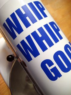 Kitchen mixer vinyl decal Whip It Whip It by LilPunkinCreations