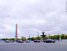 COLOR - Paris (3D - anaglyph) View Photos, Red And Blue, Paris, 3d, Photography, Color, Montmartre Paris, Photograph, Fotografie