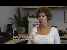 ▶ Audiologist With Hearing Loss Tells Her Story - YouTube | An audiologist explains how she addressed her own progressive hearing loss and enjoyed life to the fullest again with treatment. #BetterHearing #BeWell