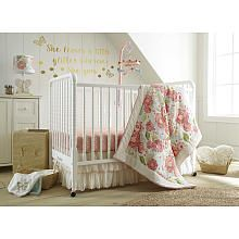 """Crib bedding and accessories called """"Baby Charlotte"""" at Babies""""R""""Us!"""