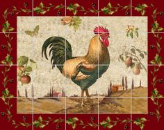 Tuscan Rooster Decor | roo_16___20x16.jpg