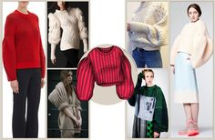 A/I 16/17: la #maglieria è strutturata. Le maniche assumono volumi particolarmente importanti!  Vai su www.fashionforbreakfast.it per maggiori approforndimenti!