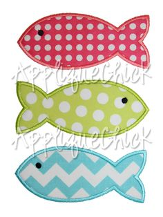fishes applique