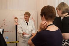 We had so many questions about procedure and protocol  from crime-writing authors at Harrogate's Literary Festival, that we've created a special experience day for budding authors across Yorkshire. Learn more here: http://www.thinkforensic.co.uk/csi-experience/csi-authors-workshop/