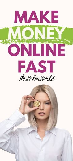 If you're looking for a new side hustle idea or to boost your monthly income, these 40 ideas are realistic ways to start making money online (provided you put in the effort! Work From Home Jobs, Make Money From Home, Way To Make Money, How To Make, Earn Money Online Fast, Best Online Jobs, Assistant Jobs, Online Income, Money Tips