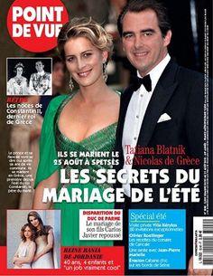 Les secrets du mariage de l'été -  Point de Vue - Numéro 3240