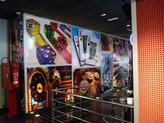 Impresion digital salon recreativo maragall