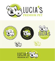 Create a modern and fun logo for a pet food and supply shop by Bossall691