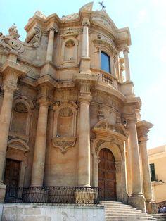 Chiesa di San Domenico, Val di Noto, Sicily..My dream to go to Sicily where my husbands family is from