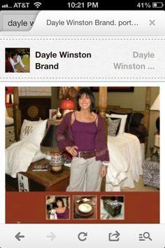 Dayle in custom bedding  vignettes