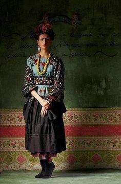 """Frida"". Imitatie.Foto: Wilfried Beege"