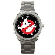 GHOSTBUSTERS LOGO Custom Sport Metal Watch COLLECTORS