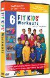 6 Kids Fitness Workouts Fit Kids [DVD] [2008] [US Import]: fitness kids dvd