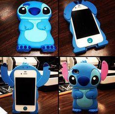 stich iphone case. its so cute. i neeeeeeed it