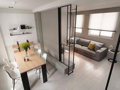 作品欣賞-彰化 吳公館::子境空間設計:: Asian Interior, Luxury Interior, Modern Interior, Apartment Interior, Apartment Design, Living Room Partition, Partition Design, Small Modern Home, Asian Home Decor