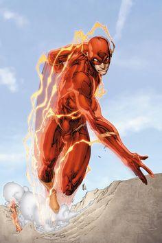 Random Comic Book Fights: The Flash(Wally West) vs. Admiral Kizaru The Flash by Brett Booth Comics Anime, Comic Manga, Dc Heroes, Comic Book Heroes, Comic Books, Comic Art, Flash Comics, Arte Dc Comics, Flash Barry Allen