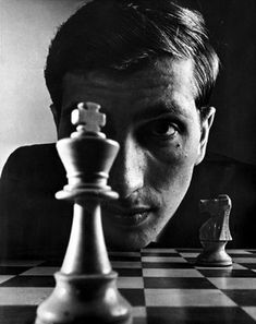 Bobby Fischer (1943-2008) - American chess prodigy, grandmaster, and the eleventh World Chess Champion. Many consider him the greatest chess player of all time. Photo by Philippe Halsman 1967
