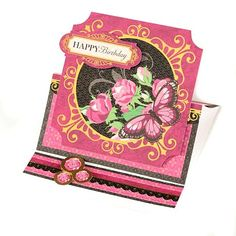 Paper Wishes Rose Garden Toppers Complete Card Kit