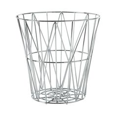 Add an astronomically elegant accent to a contemporary space. The Ecliptic Storage Basket features beautiful chrome-plated metal strips intertwining into diamond patterns forming a circular form that i...  Find the Ecliptic Storage Basket, as seen in the The Best of Modern Design Collection at http://dotandbo.com/collections/the-best-of-modern-design?utm_source=pinterest&utm_medium=organic&db_sku=110093
