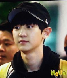 Chanyeol   ♥ - 141028 Incheon Airport, departing for Mexico