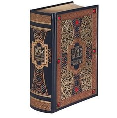 3 of 8: The Holy Bible: King James New & Old Version by Gustave Dore Leather Bound