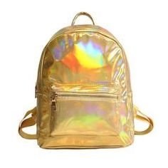 0fc1b3818c8 Holographic Backpack – Very Peachy Clothing. Stay hands free and stylish  all day with this