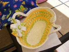 Coiled Fabric Baskets Enter your best work for a chance to win $1000 at #TheCraftys!