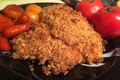 French's Fried Onion Honey Mustard Chicken via @2kitchendivas
