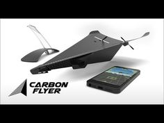 Carbon Flyer: Cell Phone Controlled Plane | Indiegogo. Follow APOLLO Drone World and help us change the drone world.
