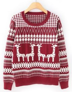 adorable giraffe patterned sweater! I NEED THIS NOW! CUTEST THING I'VE EVER SEEEEEEEEN