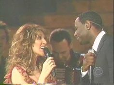 Celine Dion Medley with Brian McKnight m in awe. breathtaking duet! taking all my troubles away.