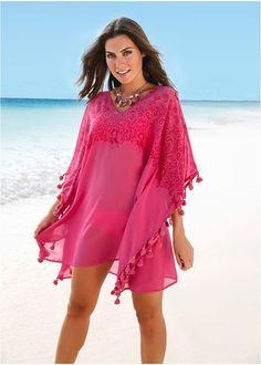 Τουνίκ για την παραλία Φούξια bpc selection bonprix collection | 22.99 € | bonprix