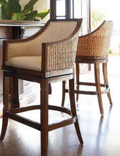 Best Of Seagrass Bar Stools Swivel