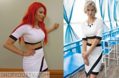 Total Divas: Season 4 Episode 13 Eva Marie's Two-Piece Dress
