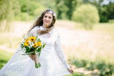 A stunning wedding in the woods