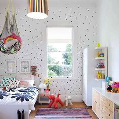 17 Cool   Colorful Ways to Organize Your Kids' Room