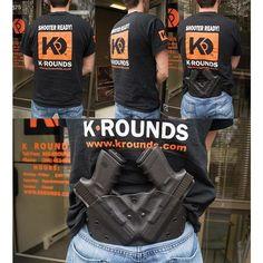 OWB Double Pancake - K Rounds, LLC Kydex, Holster