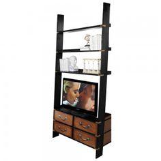 TV Ladder Bookcase